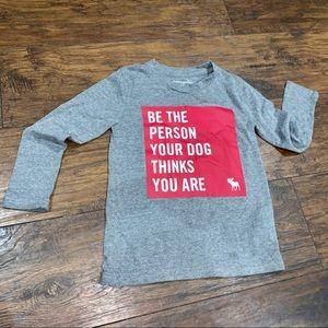 Kids Abercrombie 5/6 long sleeve shirt